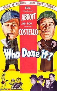 Abbott & Costello: Who Done It? (1942)