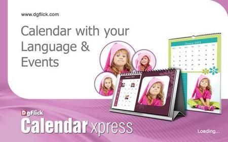 DgFlick Calendar Xpress PRO 6.0.0.0 Multilingual