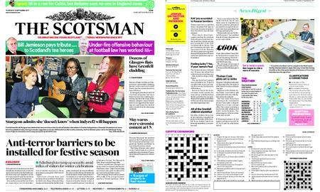 The Scotsman – September 21, 2017