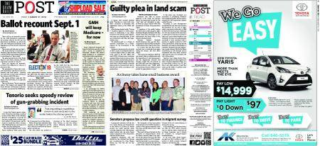 The Guam Daily Post – August 31, 2018