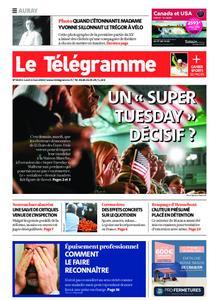 Le Télégramme Auray – 02 mars 2020