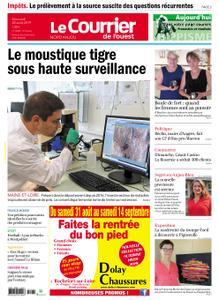 Le Courrier de l'Ouest Nord Anjou – 28 août 2019