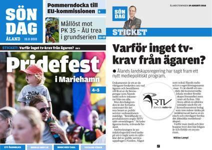 Ålandstidningen – 19 augusti 2018