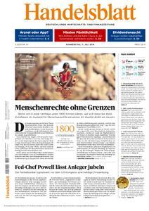 Handelsblatt - 11. Juli 2019