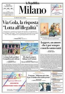 la Repubblica Milano - 17 Gennaio 2020