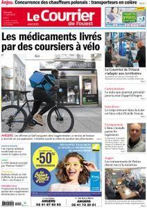 Le Courrier de l'Ouest Angers - 11 avril 2018