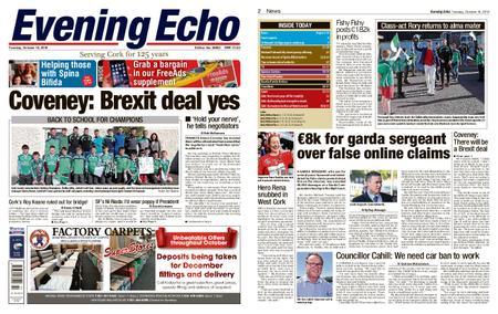 Evening Echo – October 16, 2018