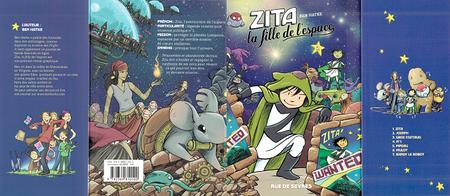 Zita - La Fille de L'espace - Tome 2