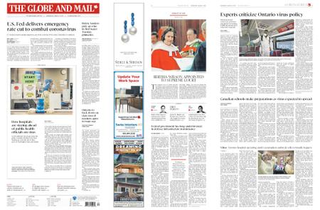 The Globe and Mail – March 04, 2020