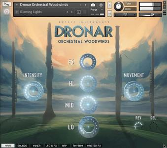 Gothic Instruments DRONAR Orchestral Woodwinds KONTAKT