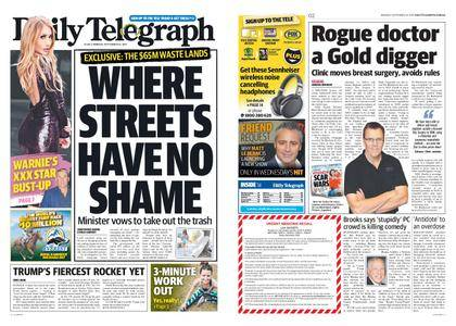The Daily Telegraph (Sydney) – September 25, 2017