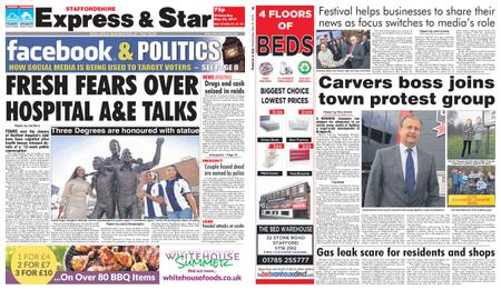 Express and Star Staffordshire Edition – May 22, 2019