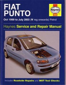 Fiat Punto 1999-2003 Service and Repair Manual
