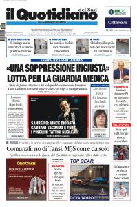 Il Quotidiano del Sud Reggio Calabria - 10 Febbraio 2020