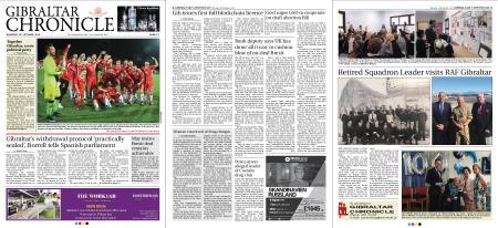 Gibraltar Chronicle – 18 October 2018