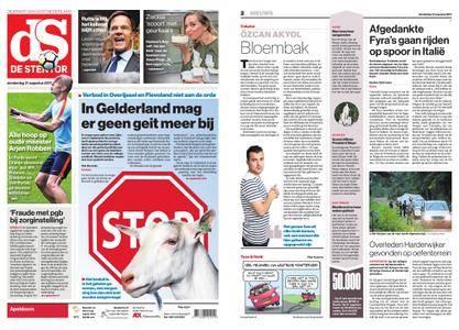 De Stentor - Apeldoorn – 31 augustus 2017