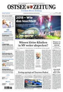 Ostsee Zeitung Wolgast - 02. Januar 2018