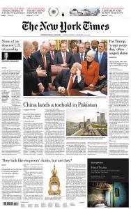 International New York Times - 24-25 December 2018