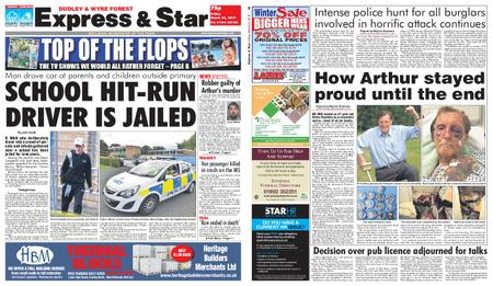 Express and Star Dudley and Wyre Forest Edition – March 22, 2019