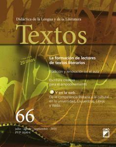 Textos. Didáctica de la Lengua y la Literatura - julio 2014