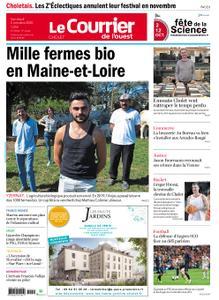 Le Courrier de l'Ouest Cholet – 02 octobre 2020