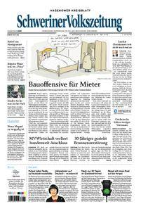 Schweriner Volkszeitung Hagenower Kreisblatt - 03. Januar 2018