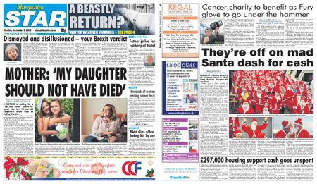 Shropshire Star Shrewsbury Edition – December 03, 2018