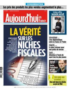 Aujourd'hui en France du Vendredi 8 Février 2019