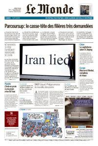 Le Monde du Mardi 8 Mai 2018