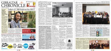 Gibraltar Chronicle – 20 October 2018