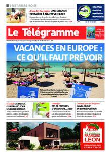 Le Télégramme Brest Abers Iroise – 08 juin 2021