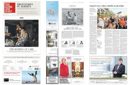 The Globe and Mail – April 13, 2019