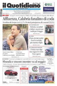 il Quotidiano del Sud Catanzaro, Lamezia e Crotone - 27 Maggio 2019