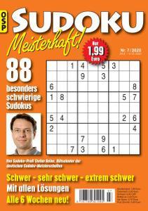 Sudoku Meisterhaft Nr.7 - 28 August 2020