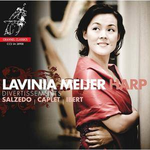 Lavinia Meijer - Salzedo, Caplet, Ibert: Works for Harp (2008)