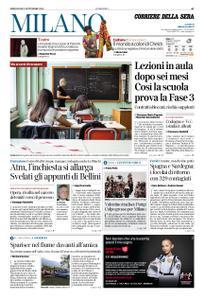 Corriere della Sera Milano – 02 settembre 2020