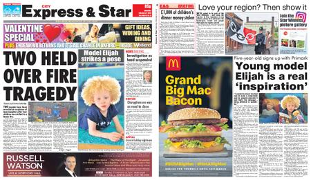 Express and Star City Edition – February 09, 2019
