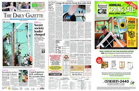 The Daily Gazette – March 27, 2018