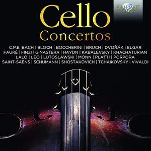 VA - Cello Concertos (2018)