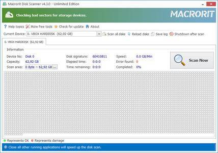 Macrorit Disk Scanner 4.3.1 + Portable