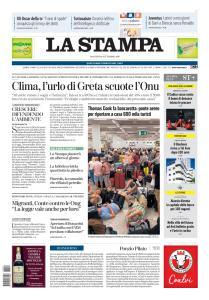 La Stampa Torino Provincia e Canavese - 24 Settembre 2019