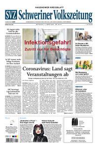 Schweriner Volkszeitung Hagenower Kreisblatt - 11. März 2020