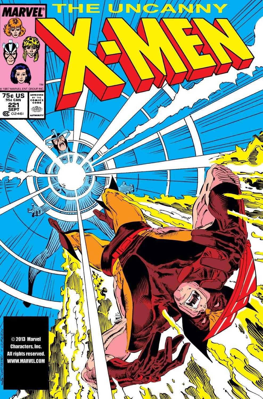 Uncanny X-Men 221 1987 Digital