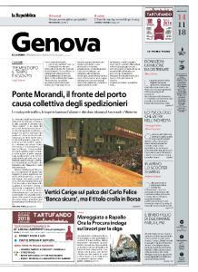 la Repubblica Genova - 14 Novembre 2018