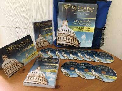 TAX LIEN PRO Real Estate Investing Training System (11 Audio CD's + DVD)