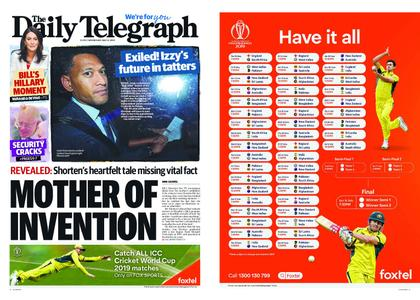 The Daily Telegraph (Sydney) – May 08, 2019