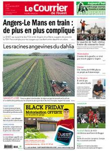 Le Courrier de l'Ouest Nord Anjou – 25 novembre 2019