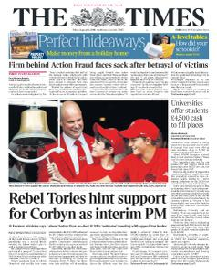 The Times - 16 August 2019