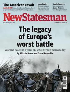 New Statesman - 12 - 18 February 2016