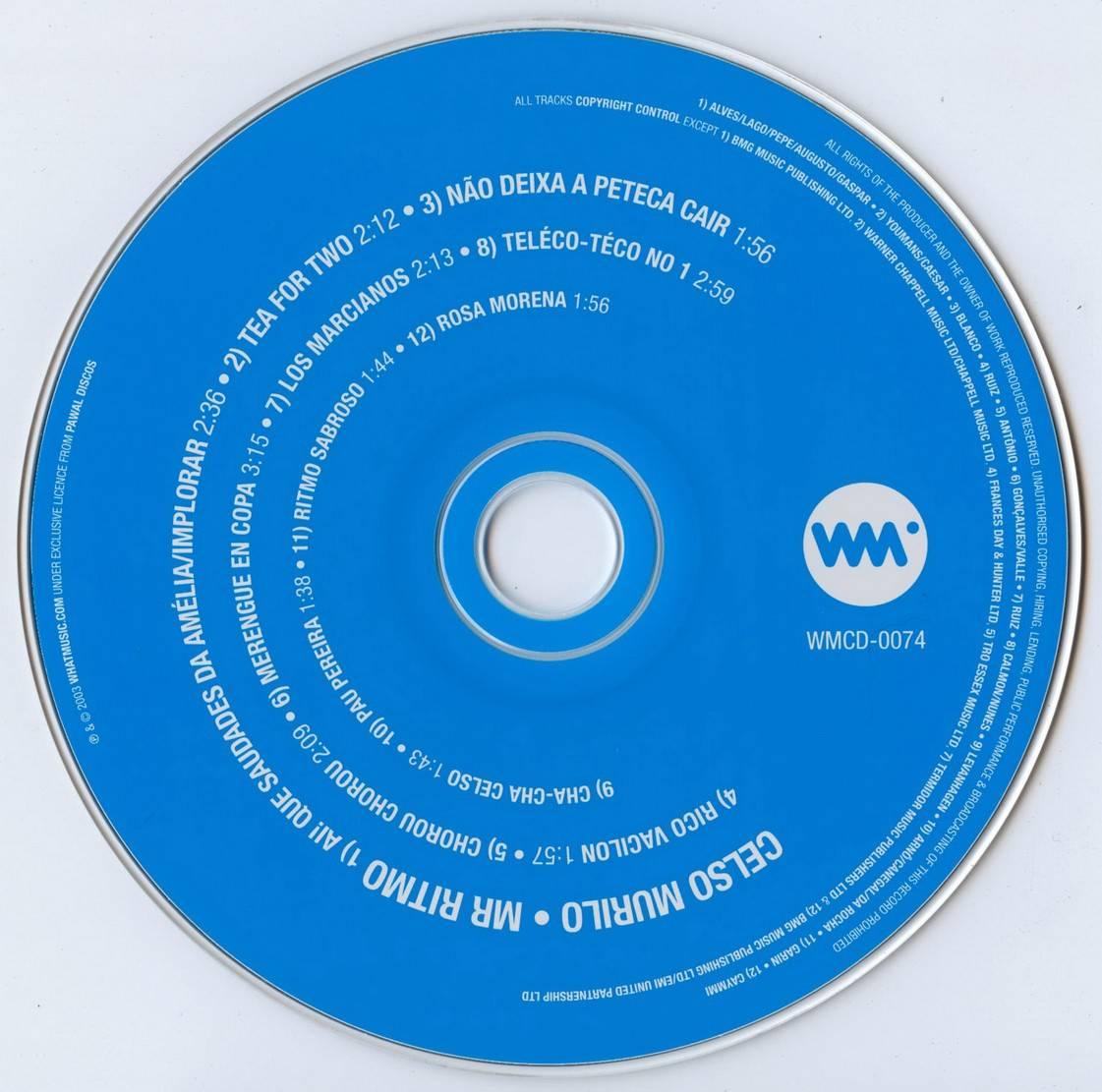Celso Murilo - Mr. Ritmo (1961) {Whatmusic WMCD-0074 rel 2003}